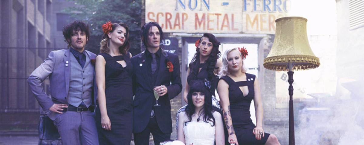rock and roll, gothic wedding
